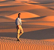 Sahara with Michael Palin now showing on Bravo