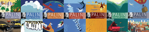 Michael Palin's new paperbacks