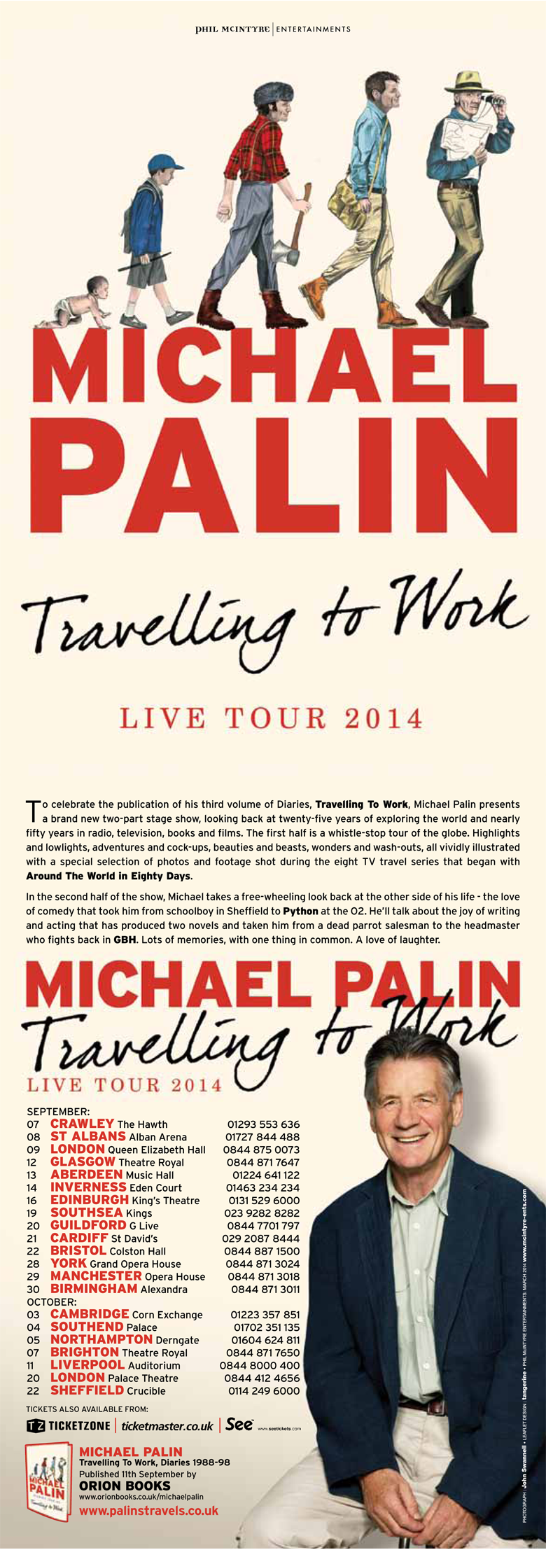 Michael Palin's Travelling to Work