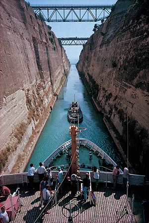 Around the World in 80 Days - The Corinth Canal