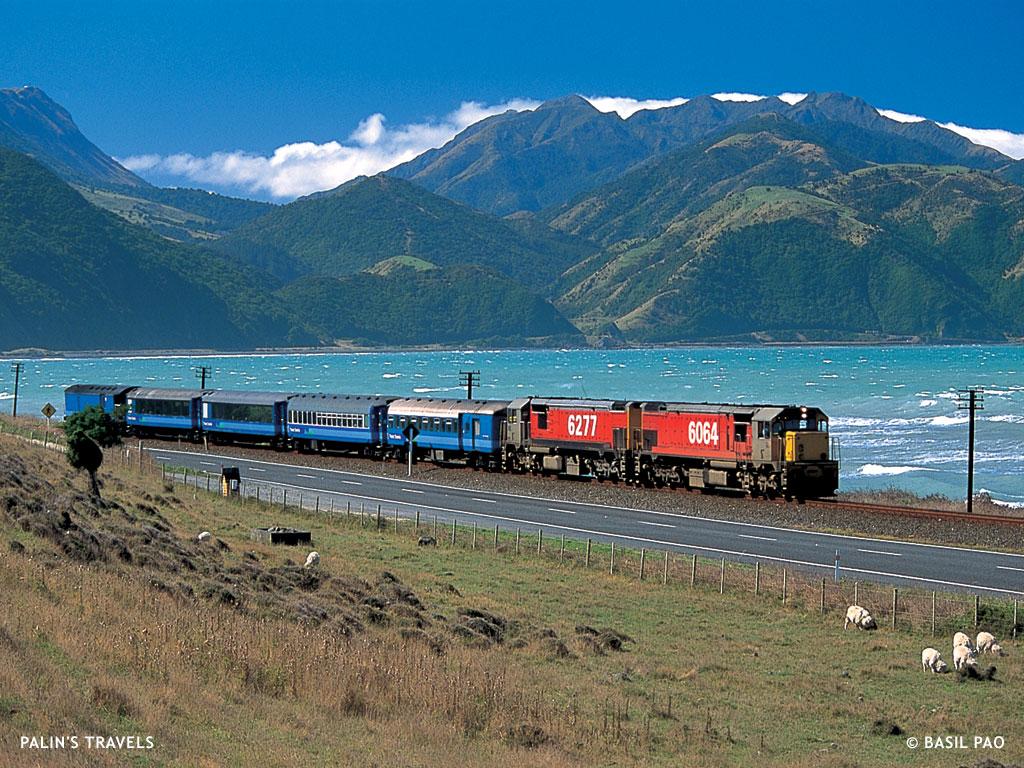 Palin S Travels Full Circle The Coastal Pacific New Zealand