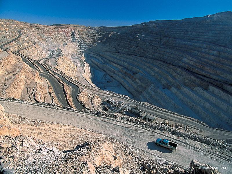 Jeep San Diego >> Palin's Travels: Full Circle, Chuquicamata mine, Chile
