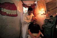 Pakistan, Dental Alley  click to enlarge  file size