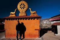 Lhasa, Tibet  click to enlarge  file size