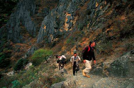 Himalaya - Tiger Leaping Gorge, China