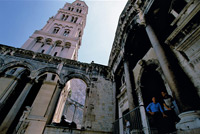 Diocletian's Palace, Split  click to enlarge  file size