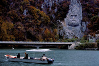 The Dacian King Decebalus  click to enlarge  file size