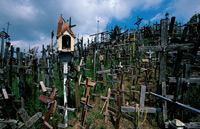 The Hill of Crosses  click to enlarge  file size