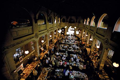 New Europe - The market at Rijeka