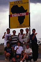 The Equator, Kenya  click to enlarge  file size