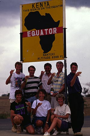 Pole to Pole - The Equator, Kenya