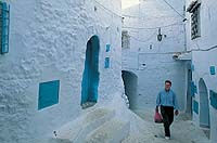 Chefchaouen, Morocco  click to enlarge  file size