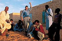 Chinguetti, Mauritania  click to enlarge  file size